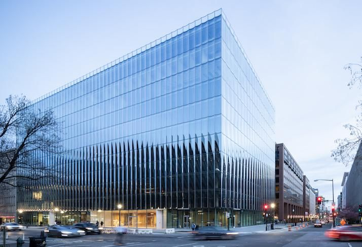 The office building at 2050 M St. NW