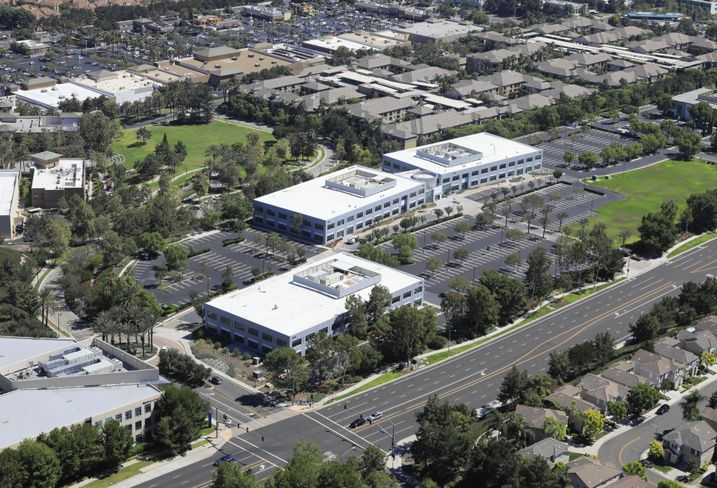 Element is a 160K SF corporate campus in Aliso Viejo