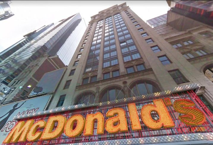 McDonald's Closing Times Square Flagship, Says Pandemic Isn't Behind Decision