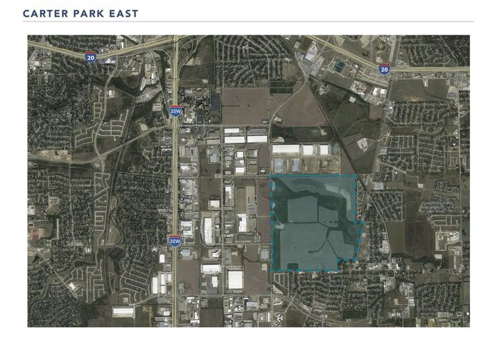 556-Acre Industrial Park Planned For South Fort Worth