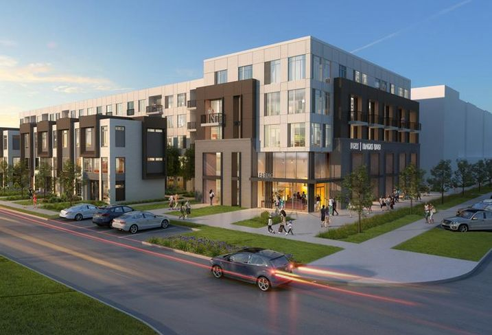 Rendering of the 336-unit Legacy at Fitz in Aurora, Colorado