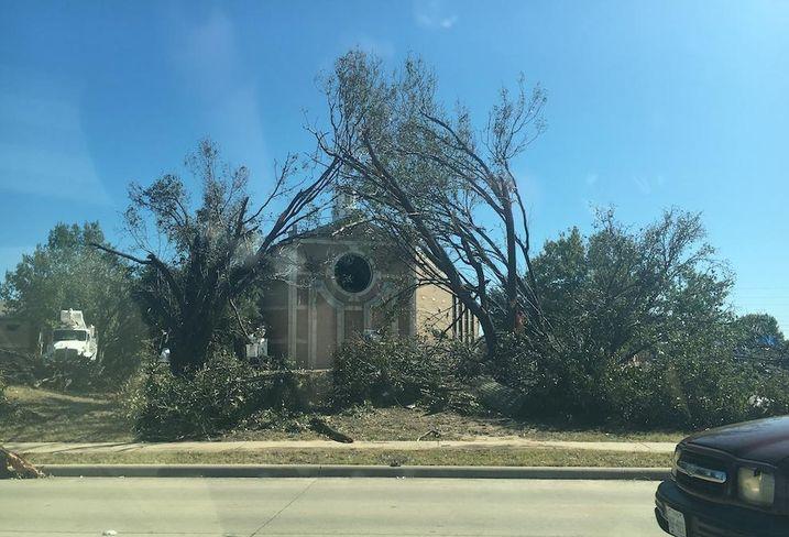 Tornado Ravages Dallas, Leaving A Trail Of Damaged ...