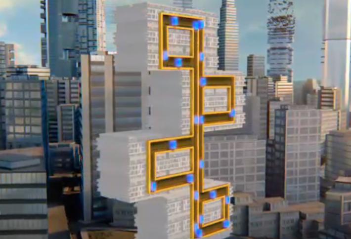 Diagonal Elevators for Multifamily?