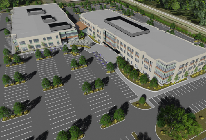 Work Starts on Group Health Campus at Old Race Track Site