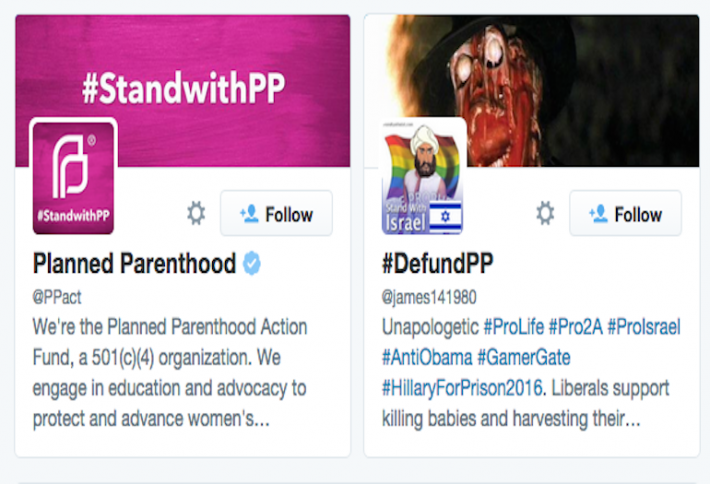 How Social Media Shaped the Planned Parenthood Debate