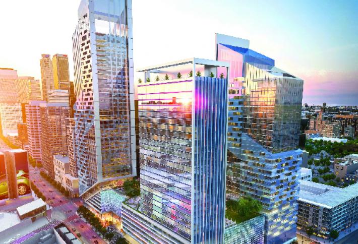 W Hotel Planned for $700M Downtown LA Development