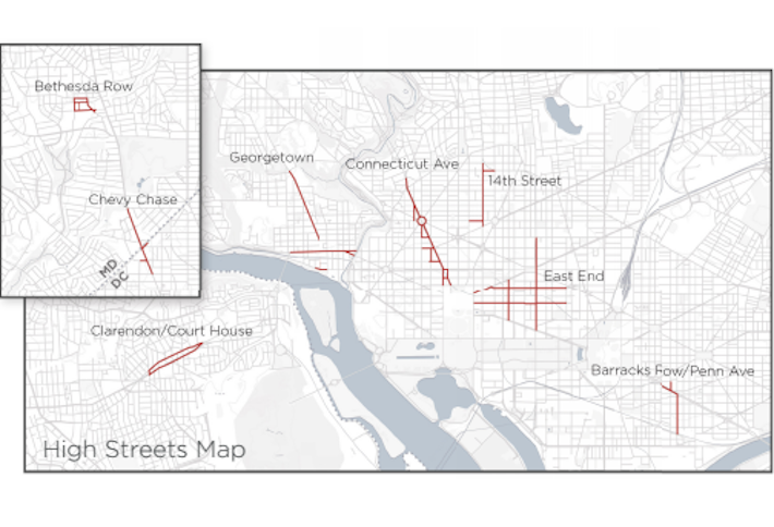 New Study Reveals Just How Dominant 7th Street NW Retail Is