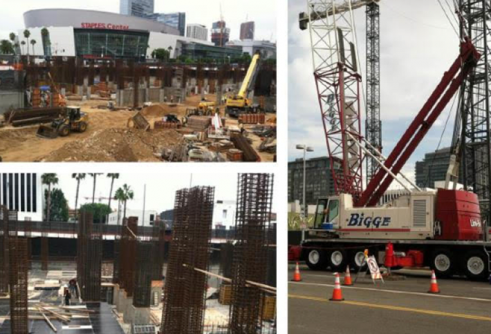 Exclusive Photos: Construction Progressing at $500M Mixed-Use Towers