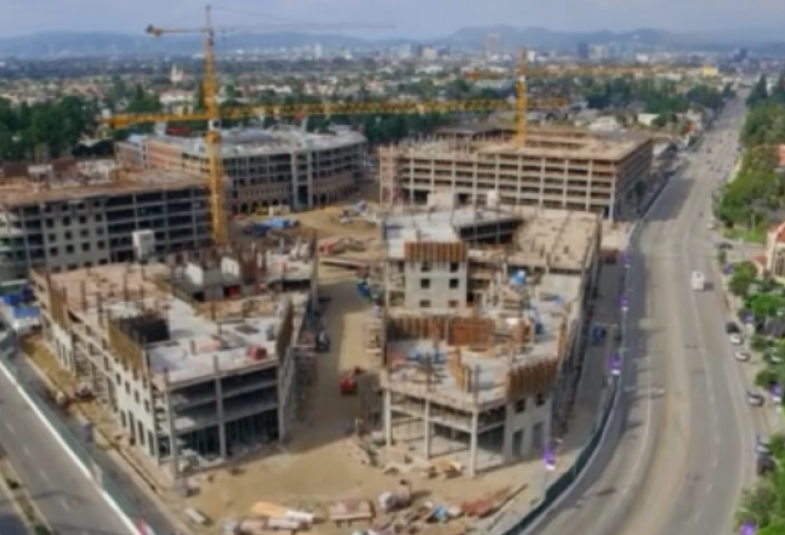 Exclusive First Look: Drone Video of Retail at USC's $650M Village