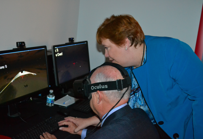 Virtual Reality Soars at University of Maryland