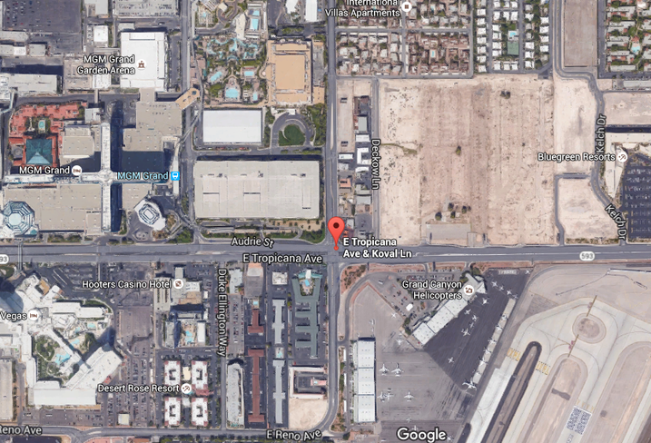Property for UNLV proposed stadium with Sands