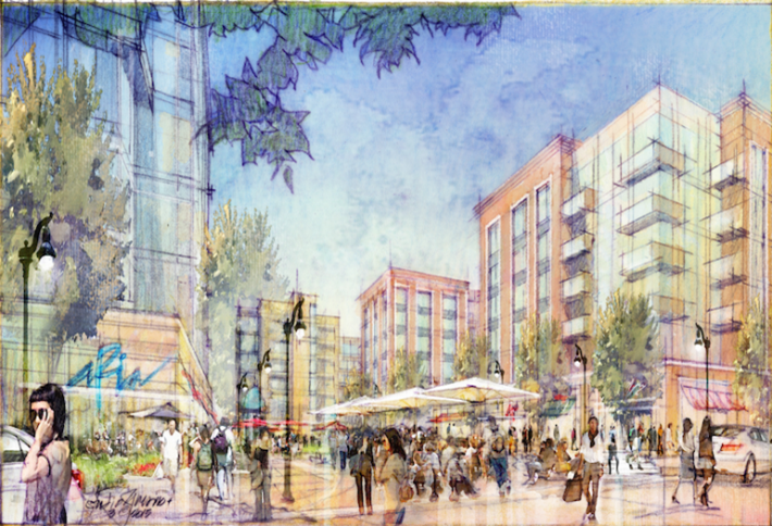 StonebridgeCarras' Plans To Transform Area Across From Potomac Yard