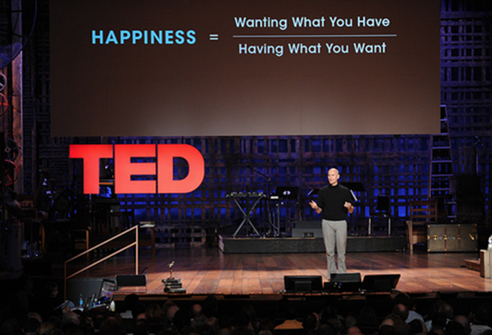 Airbnb's Chip Conley giving a TED talk