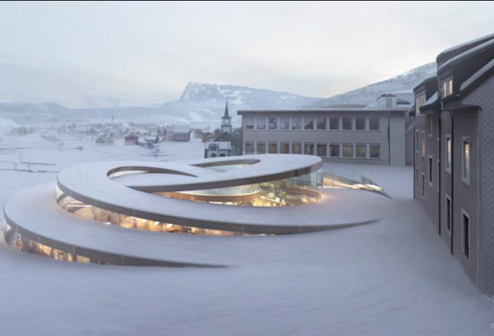 La Maison Des Foundateurs Bjarke Ingels