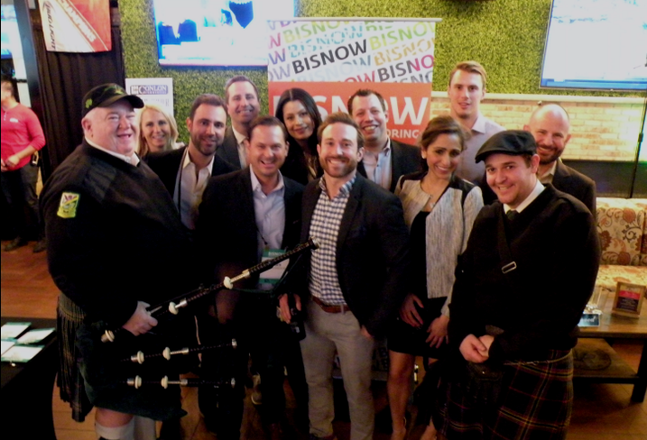 Chicago Real Estate Pros Cut Loose At Our St. Paddy's Day Schmooze