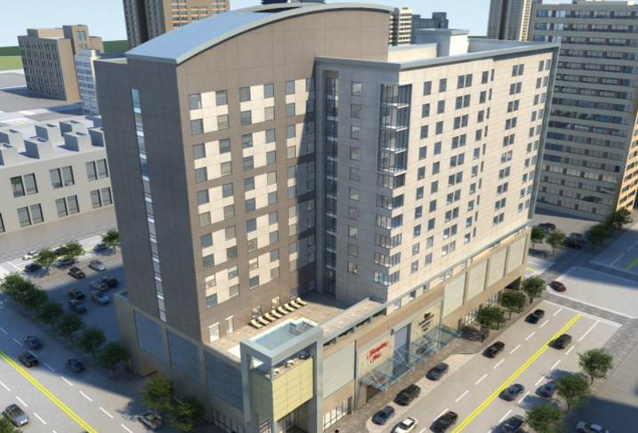 Linbeck Group Completes Dual-Branded Hotel In Time For Final Four