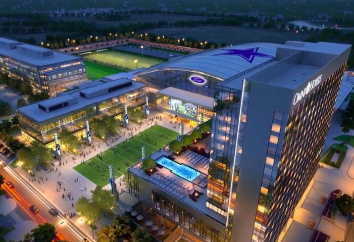 PHOTOS: Inside The Dallas Cowboys' New Training Facility