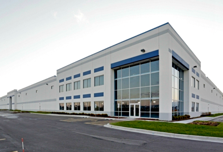 One of two industrial facilities in McCook, IL owned by Heitman