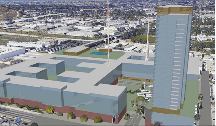 Find Out What The Proposed Jefferson And La Cienega Development Would Look Like