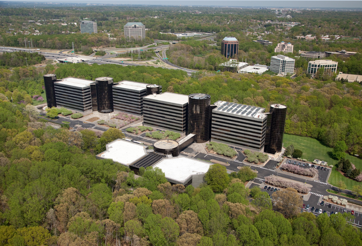 Inova Campus for Personalized Health off Gallows Road in Vienna, VA.
