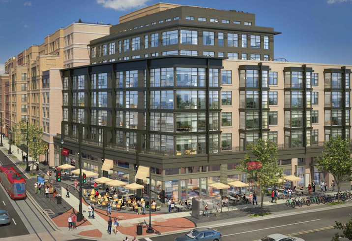 Rendering of the H Street Connection development in Washington, DC