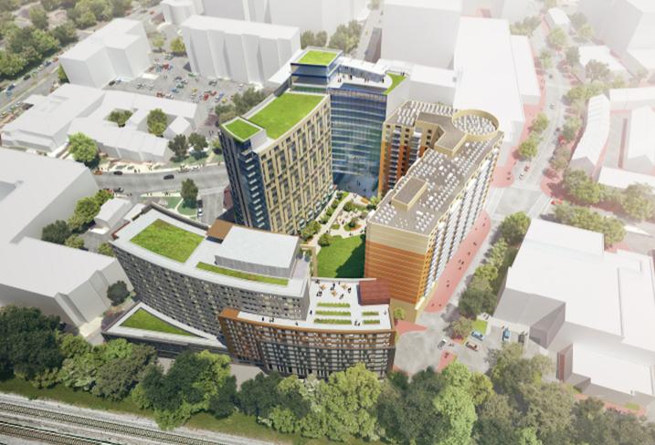 Elizabeth Square Silver Spring Lee Development Group