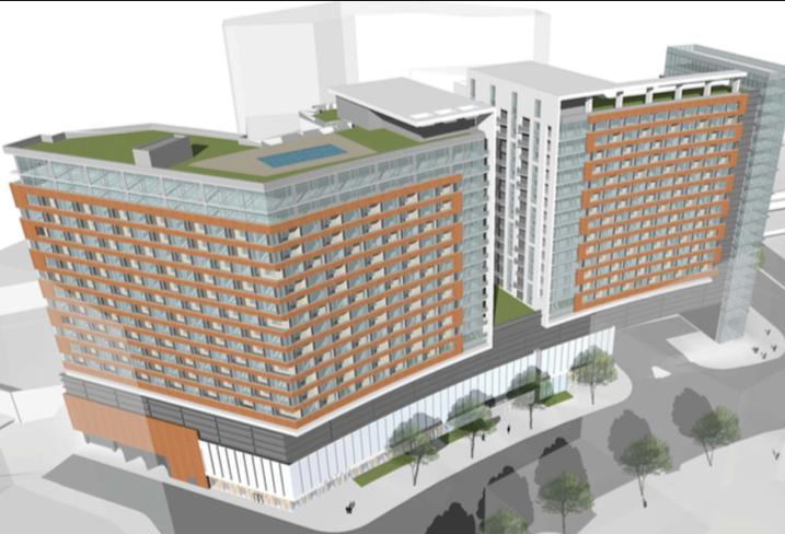 Metro Plaza Silver Spring maisel-hollins development co