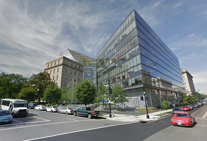 The America's Square property in Washington, DC. Owned by Jamestown Property