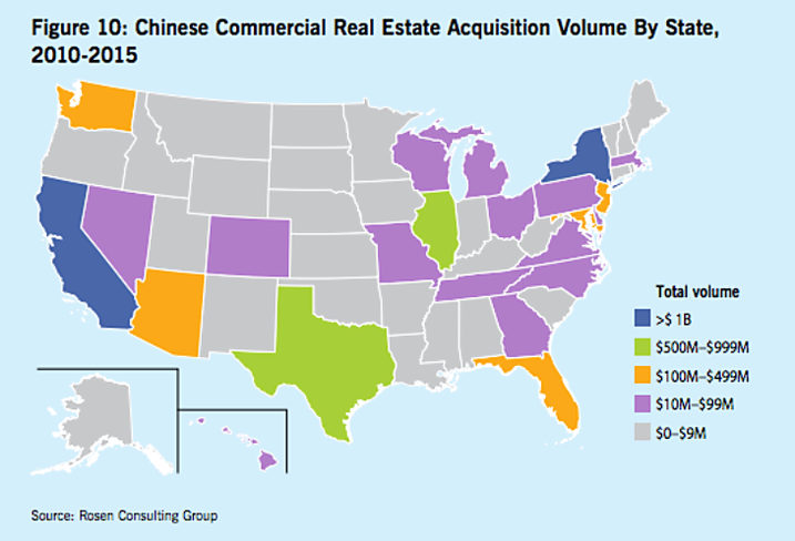 Chinese Investment by State