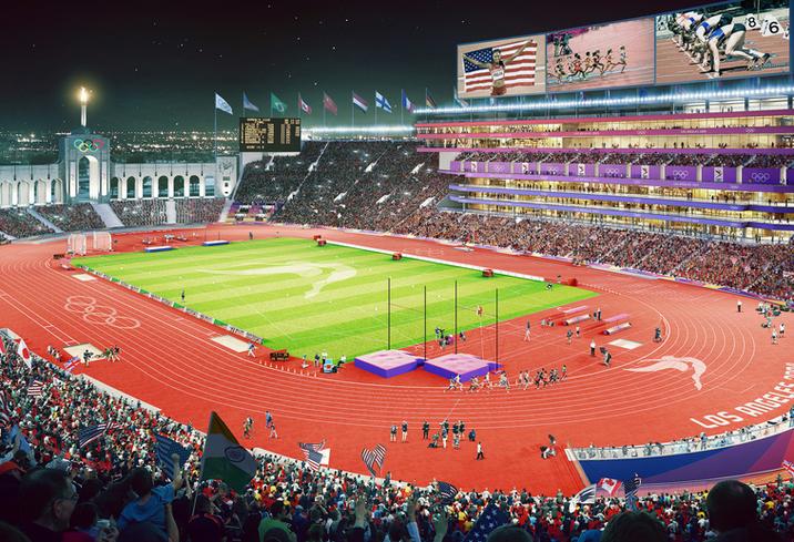 Olympics Stadium Renderings, LA