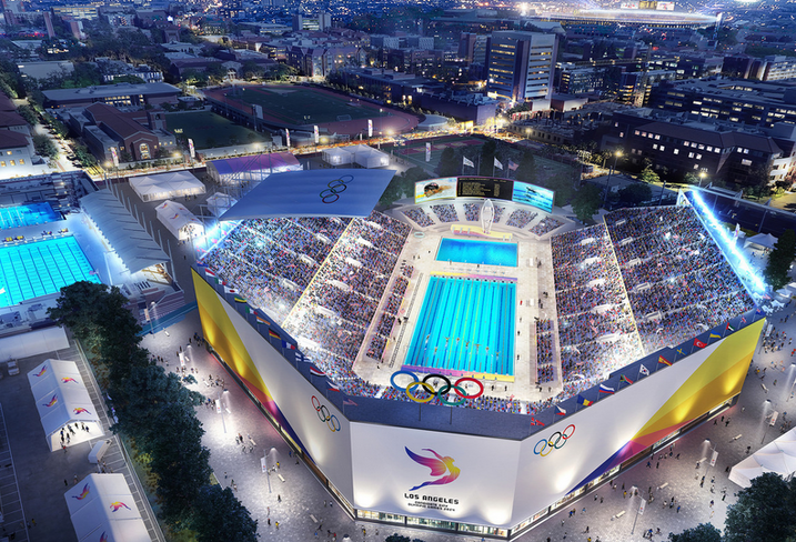 Proposed Olympics Site, LA