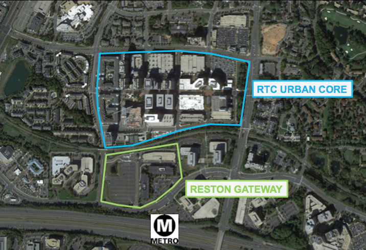 Reston Town Center Urban Core Gateway