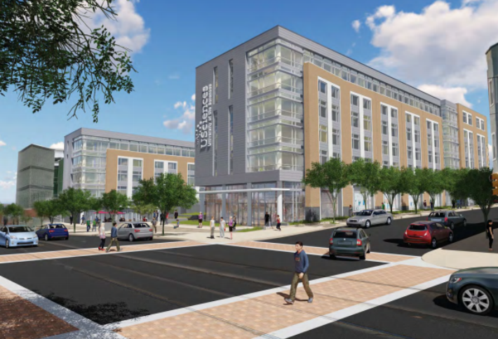 University Of The Sciences Plans New Mixed-Use Dorm Building