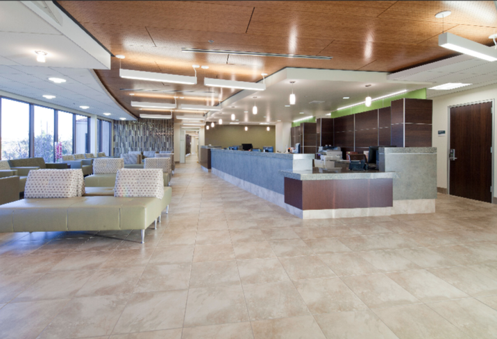 UCLA health facility by Parker Brown
