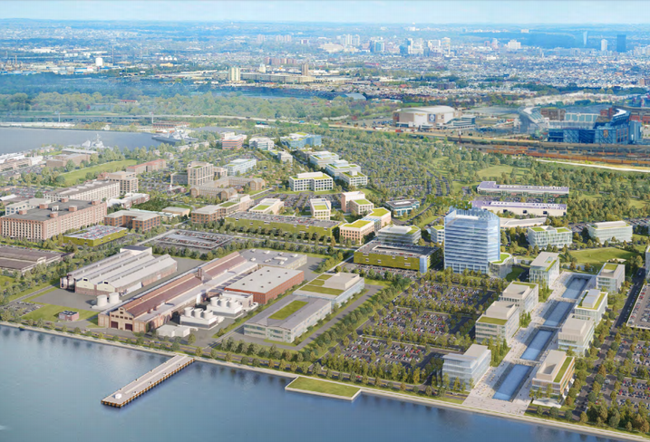 5 Groups Compete For Philadelphia Navy Yard Redevelopment