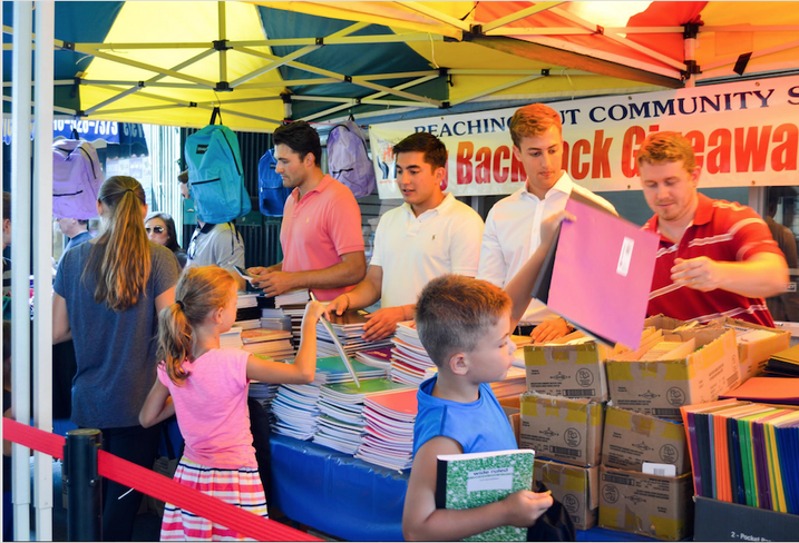 Reaching-Out Holds Annual Backpack Giveaway, Equipping Students For Success