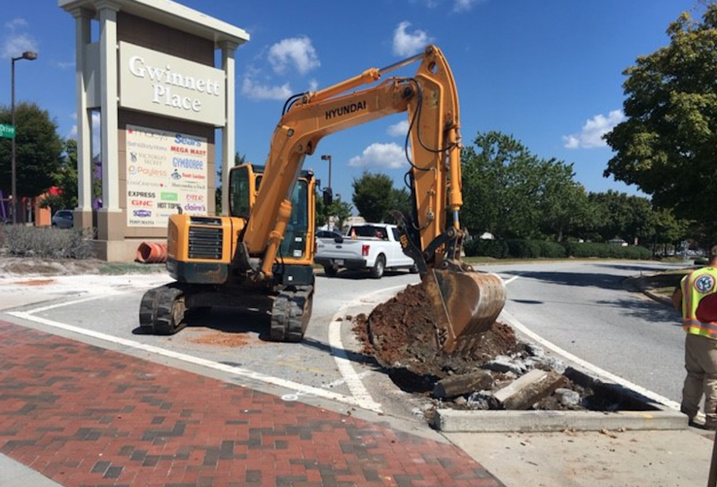 A New Roundabout Means Safer Driving And More Walkability At Gwinnett Place