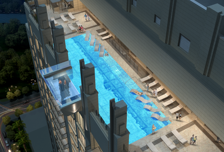 Market Square Tower Pool