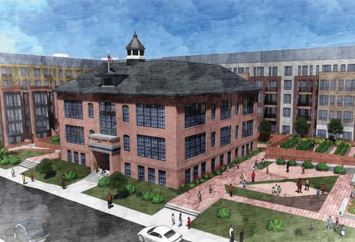 Crummell School Ivy City Rendering
