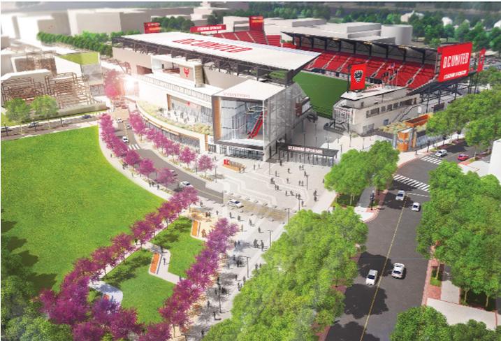 DC United Stadium Rendering