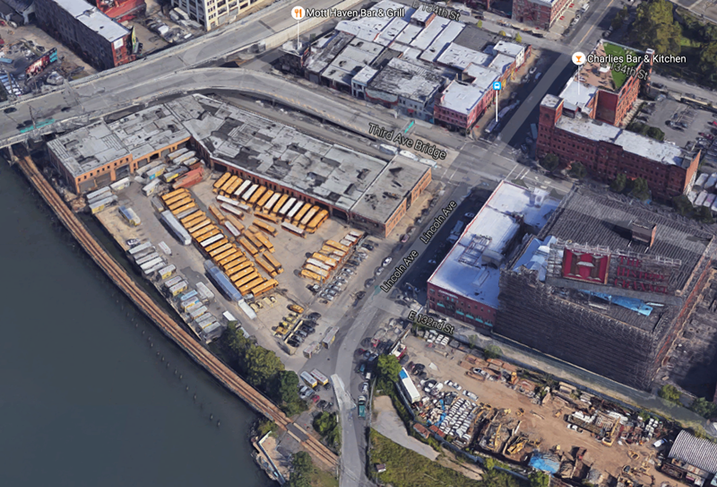 Empire State Development Puts A 13-Acre South Bronx Rail Yard For Offer