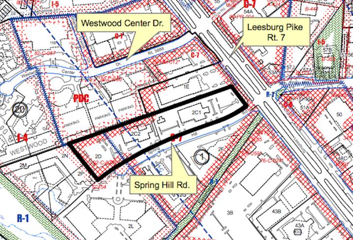 Spring Hill Rd CARS development site