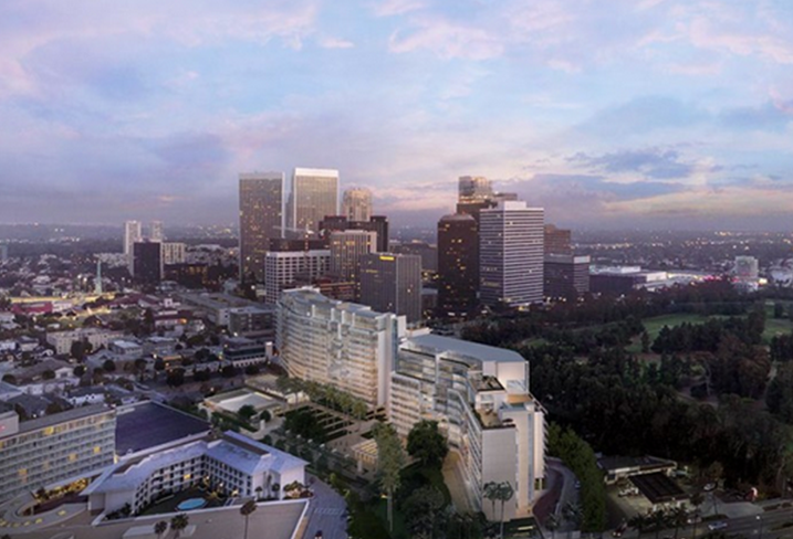 One Beverly Hills Hotel & Residences, The Wanda Group's $1.3B hotel and residences, which is underway in Beverly Hills