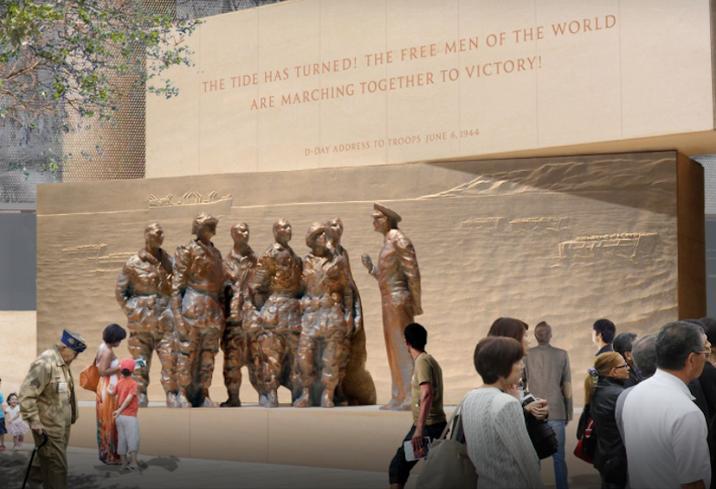Eisenhower Memorial rendering