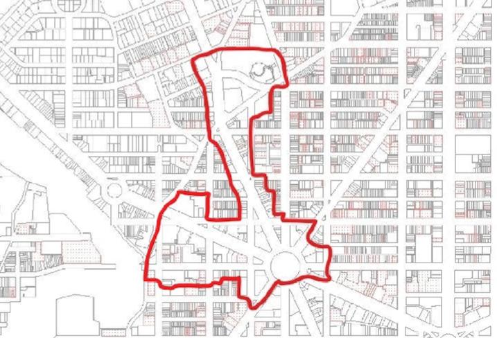 Dupont Circle BID map