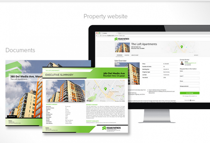 Property website and documents