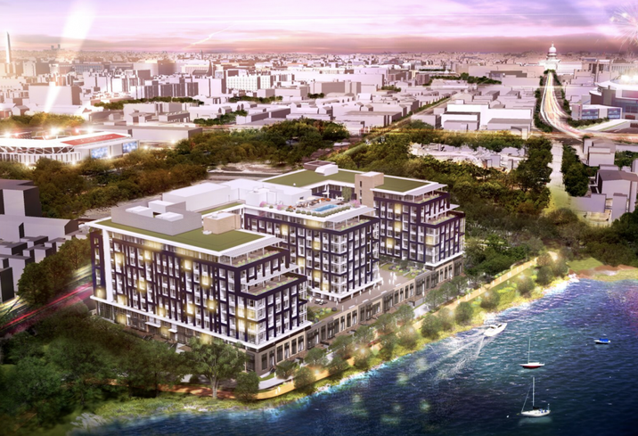 Two Hotbeds Of Mixed-Use Development Will Spring Up In Capitol Riverfront