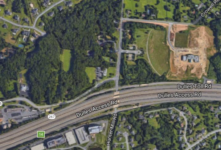 Dulles Toll Road development site