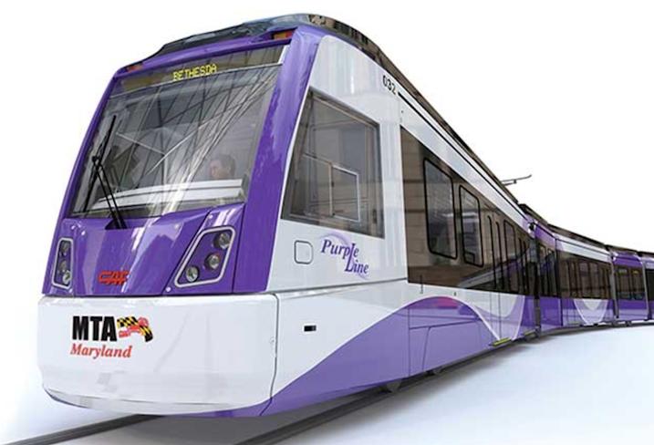 Purple Line rendering