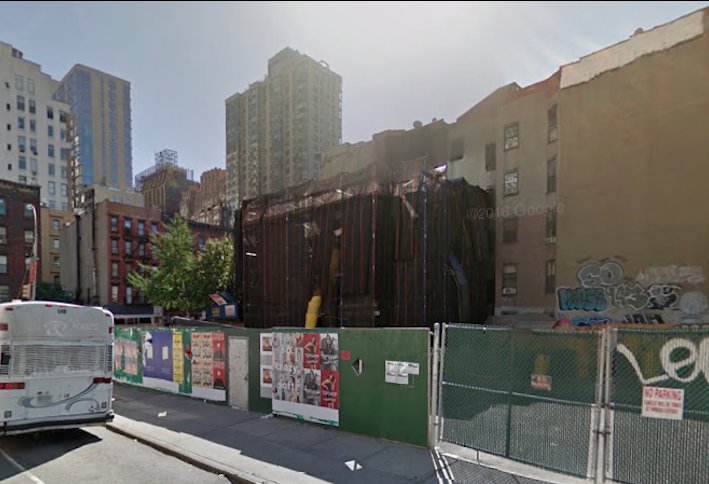 Development site at 402 West 38th St., sold by Equity Residential in March 2017